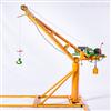 室外吊机-东弘 360度旋转室外装修小型吊运机
