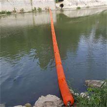 垃圾围栏海上垃圾拦截浮筒拦污浮筒