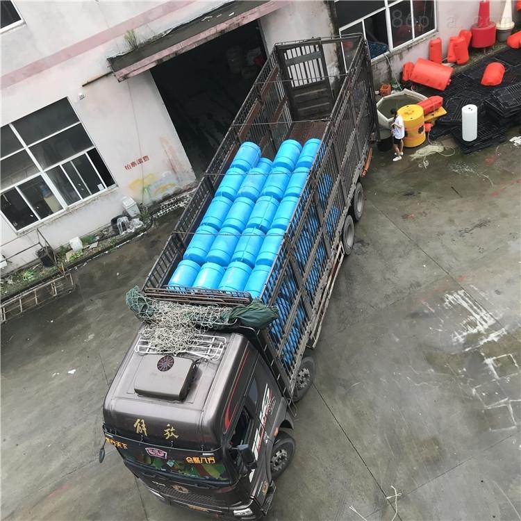 水上垃圾拦截浮筒电站浮筒式拦污排价格