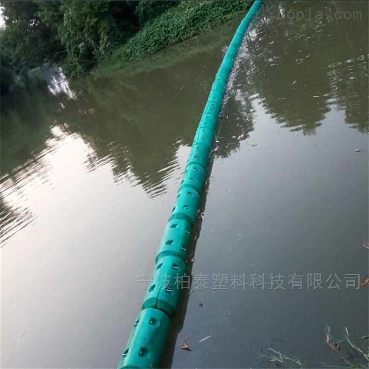 塑料拦污浮体300*1000中小型河道拦污排