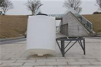 2吨锥底水箱锥底蓄水箱PE水箱搅拌桶