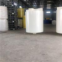 牛筋料圆形锥底加药箱水处理塑料搅拌桶