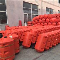 水面阻挡垃圾塑料浮筒水库拦漂设备