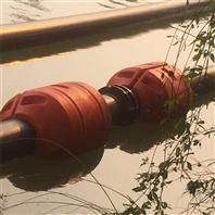 两半式输送管道浮筒