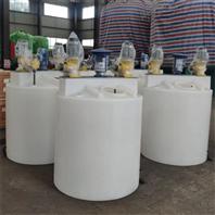 一体式自动搅拌水处理加药桶