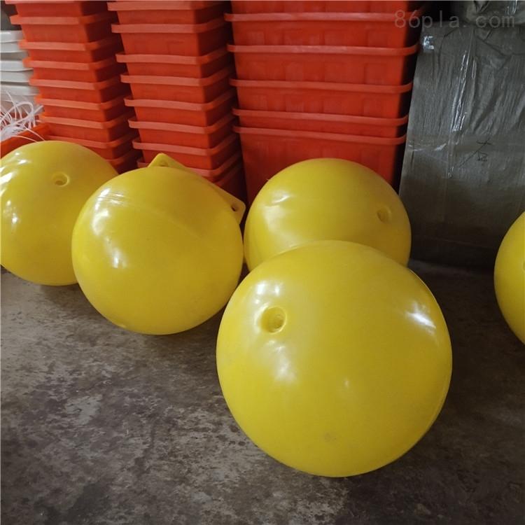 厂家生产聚乙烯浮球海上警示浮球