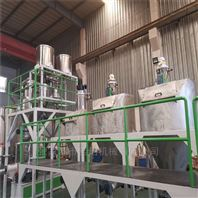 PVC粉料粒料自动输送计量称重配混系统