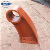 供应护栏支架 衡荣铸钢护栏防撞支架特点