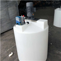 塑料搅拌桶500L加药箱废水储罐