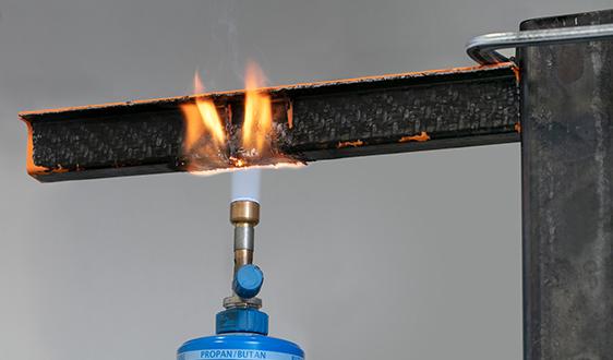 朗盛提供以PA6为基体的新型阻燃热塑性复合材料 坚韧且非常耐火